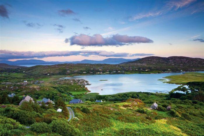 isla esmeralda irlanda